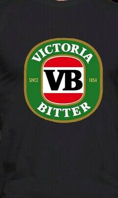 VB VICTORIA BITTER BEER Retro LONG AND SHORT SLEEVES   MEN'S T SHIRT