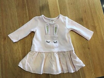 Baby Girls winter long sleeve Seed Heritage Top / Dress Size 000 / 0-3 Months