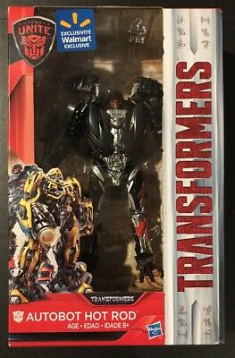Transformers The Last Knight Autobot Hot Rod Deluxe Class