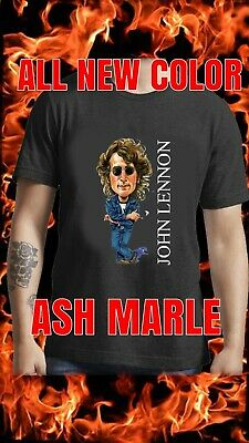 JOHN LENNON Imagine The Beatles Rock Retro Vintage  T SHIRT & SINGLET