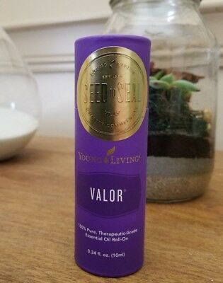 Young Living Valor Essential Oil Blend - 10 ml Roll On - Free Shipping