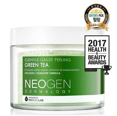 Korea_NEOGEN DERMALOGY Bio-Peel Gentle Gauze Peeling_Green Tea