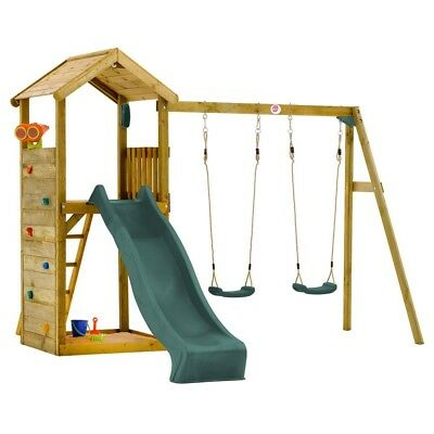 Plum Lookout Tower Play Centre with Swings