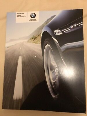 BMW M6 Launch Coupe and and Convertible v10 Sales Brochure