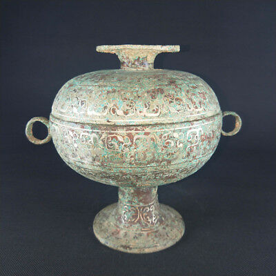 Ancient shang and zhou bronzes set pieces to ward off evil town house utensils.