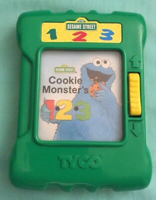 Vintage TYCO 1996 Sesame Street Cookie Monster's 1.2.3 Learning Centre Toy