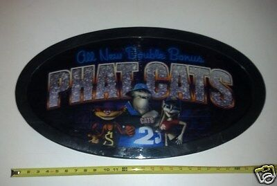 Slot Slot Machine Topper/Sign Plastic Phat Cats