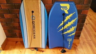 Bodyboards x 2, hardly used, 36""