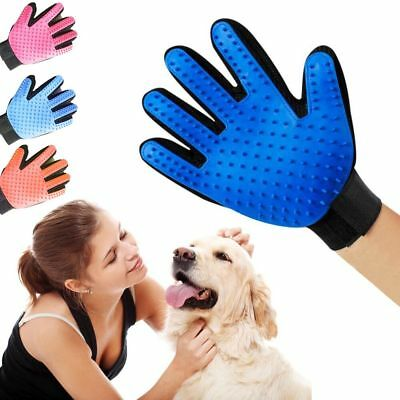 Dog&Cat Clean Massage Bath Grooming Washing  Glove Fur Cleaning Pet Hair Brush