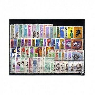 1964 Romania Year Complete Year Set 154 Values - 4 Bf Mnh Mf1023