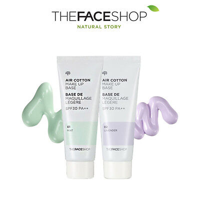 The Face Shop Air Cotton Makeup Base SPF30 PA++ (40ml) | Free Tracking Shipping