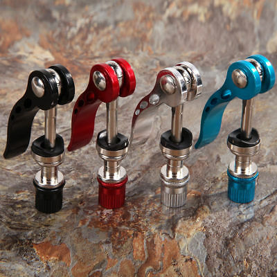 Bolt Bicycle Aluminium Alloy Bike Seat Clamp Quick Release Post Seatpost Skewer