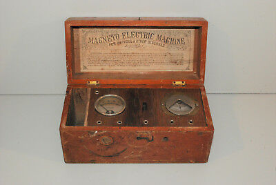Magneto Electric Machine - for nervous & other deseases - antik