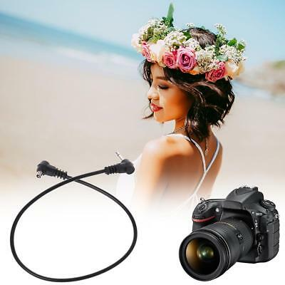 """35mm Plug to Male Flash PC Sync Cord Cable 12"""" 12 inch for Studio Photography~"""