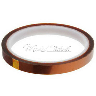 2Stks 10mm 100ft BGA High Temperature Heat Resistant Polyimide Gold Kapton Tape