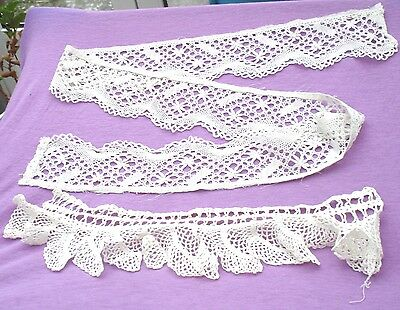 Two Pieces Of Vintage Lace
