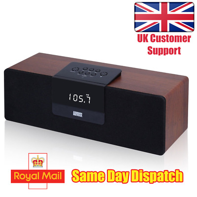30W Bluetooth NFC Stereo Speaker System with FM Radio - August SE50
