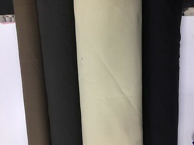 WATERPROOF FABRIC 4oz CANVAS COATED Outdoor Tarpaulins Covers Awnings Strong