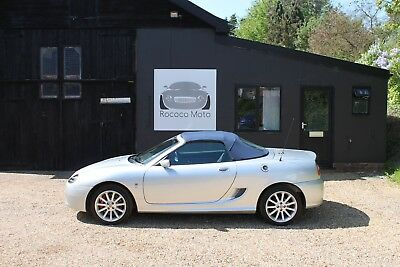 2003 Mgf Mgtf 135, Starlight Silver With Blue Hood, 10,000 Miles, New Cam Belt,