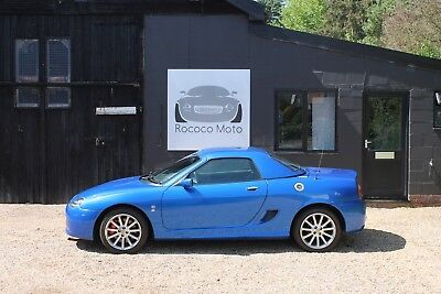 2003 Mgf Mgtf 135, Trophy Blue With Matching Hard Top, Fsh, New Cam Belt,