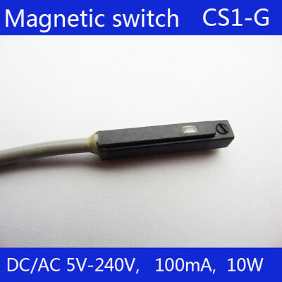 CS1-G Magnetic Air Pneumatic Cylinder Magnetic Reed Switch Sensor DC AC 5V- 240V