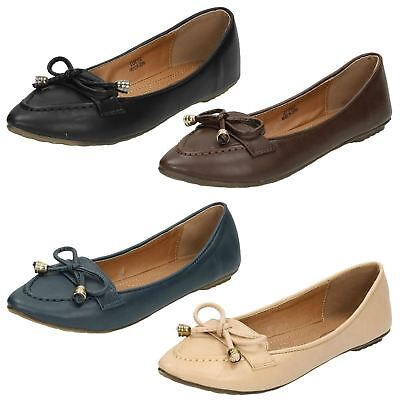SCHOOL SHOES BLACK RED AND BROWN F9436 LADIES SPOT ON FLAT CASUAL WORK