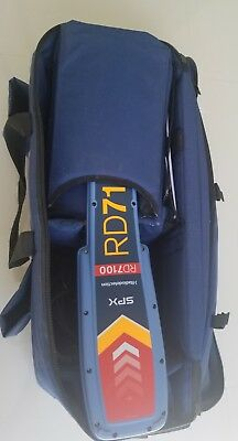"""Spx Radiodetection RD7100 dl tx5 & 5"""" clamp  Locator"""