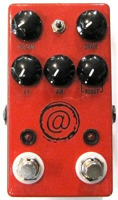 Used JHS Andy Timmons Plus Channel Overdrive Distortion Guitar Pedal! AT+