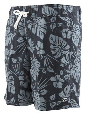 Billabong ALL DAY FLORAL LAYBACK 16 Boardshort 2018 char Badehose Badeshorts