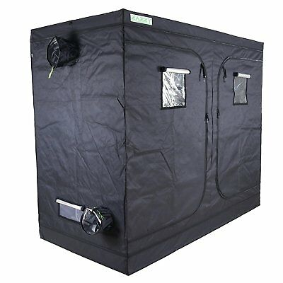 "Zazzy 96""X48 X 80 Plant Growing Tents 600D Mylar Hydroponic Indoor Grow Tent for"