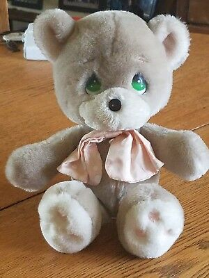 Vintage 1985 Applause Precious Moments Cubby Bear Plush Stuffed Bear