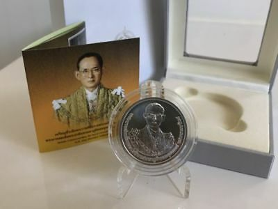 Thailand 2017 KING BHUMIBOL Commemorating Cremation ceremony UNC Silver 925 Coin