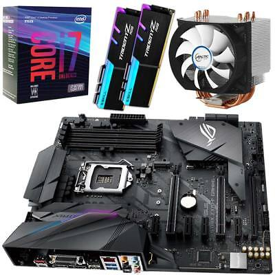 • PC Aufrüst Kit • Intel i7 8700K Box • ASUS ROG Strix Z370-F Gaming • 16GB DDR4