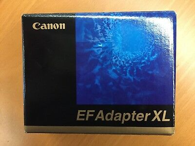 "Canon Ef Lens Adapter Xl ""vintage"" ""new In Box"" Authorized Dealer"