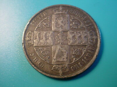 British - Silver - 1883 Florin In Nice Condition