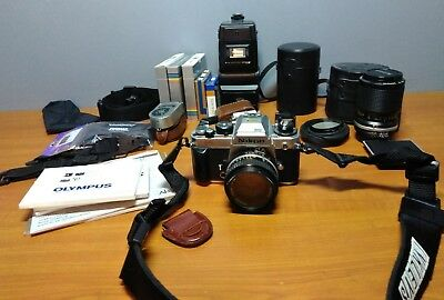 Lot of Vintage Nikon FA 35mm Camera With 35-105mm 50mm & Tons MORE!