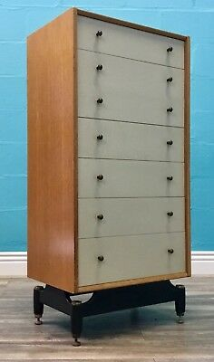 Stylish Retro Mid Century Vintage G Plan E Gomme Chest Of Drawers