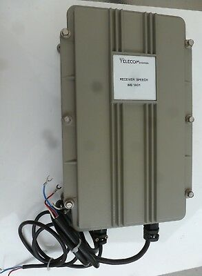 GPO WB 1400 Receiver Speech WB 1401A Cold War Early Warning System