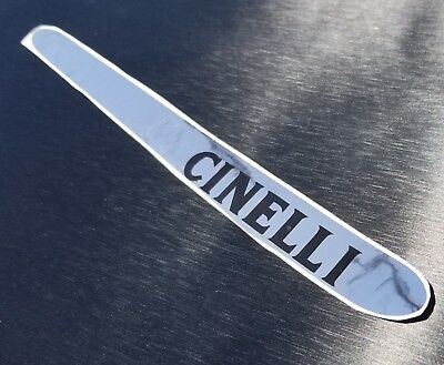 CINELLI bicycle chainstay protector sticker decal chrome vintage MASH FRAME