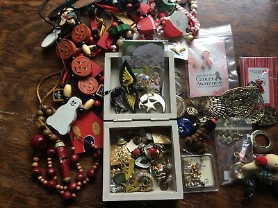 vintage junk drawer lot Jewelry