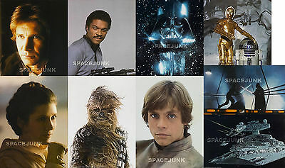 STAR WARS: EMPIRE STRIKES BACK Lobby Cards (10.2 x 14 Inches) Complete Set of 9