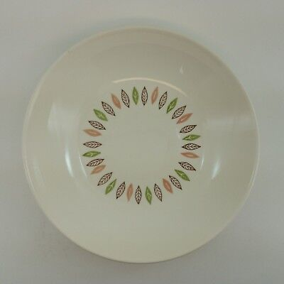 Large Vegetable Side Bowl Stetson China  Ovenproof Nordic / Arrow Leaf Pattern