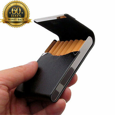 New Aluminum Cigar Container Cigarette Case Tobacco Holder Pocket Box Storage