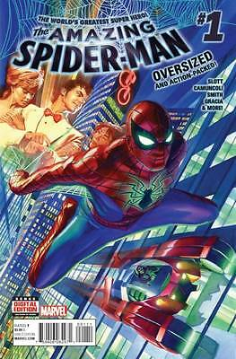 Amazing Spider-man #1 2015 - 2016 New Marvel Comics 1st Print Issue NM Alex Ross