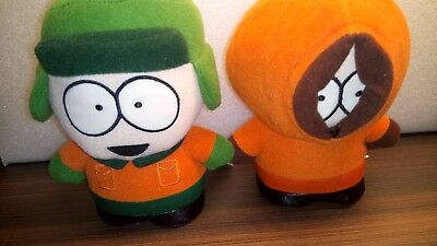 Official South Park Soft Toy Kyle and Kenny 1998 Comedy Central Collectable