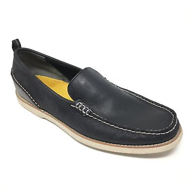 3068f24ed483 Men's Sperry Top-Sider Seaside Venetian Shoes Loafer Sz 11M Black Gray  Casual R7