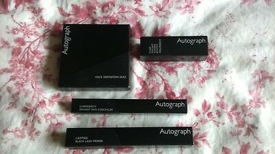 Autograph Make Up Bundle! Lash Primer! Concealer! Lipstick & Bronzer! Unused!