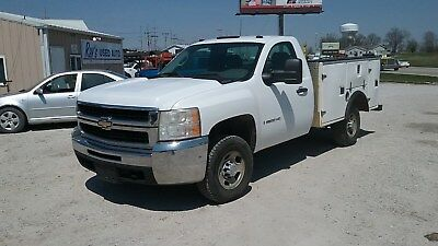 2008 Chevrolet 2500HD 4x4 Service / Utility Truck