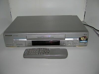 Panasonic 4 Head Super LP Model NV-SJ400A VCR With Remote In As New Condition