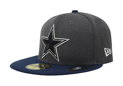 91055691db8 New Era 59Fifty Cap NFL Dallas Cowboys Mens Shader Charcoal Gray Fitted Hat  5950